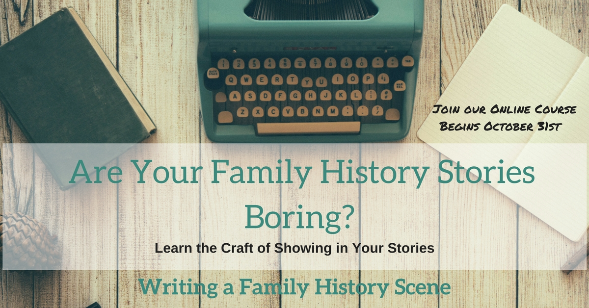 writing the family history scene the family history writing studio