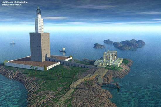 Lighthouse Of Alexandria The Pharos Of Alexandria Family
