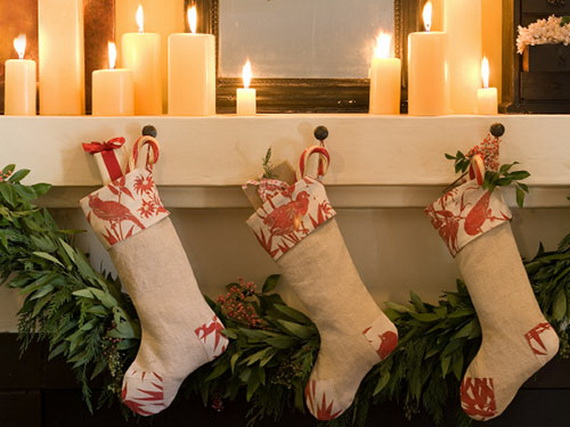 Christmas Stockings Decorating Ideas  family holidaynetguide to family holidays on the internet