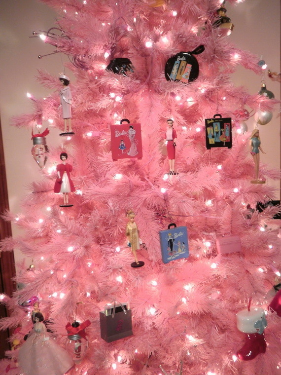 A Holiday Barbie Themed Christmas Tree  family holidaynetguide to family holidays on the internet
