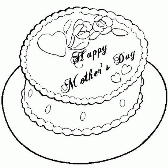 Mothers Day Coloring Pages For The Holiday Family