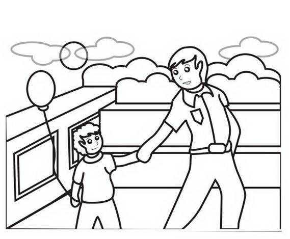 Philemon And Onesimus Coloring Page Coloring Pages