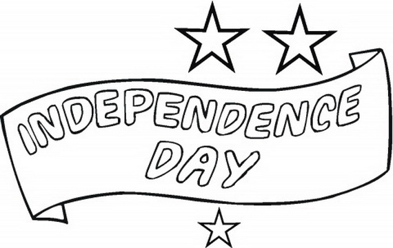 Independence Day (Fourth of July ) Coloring Pages for kids