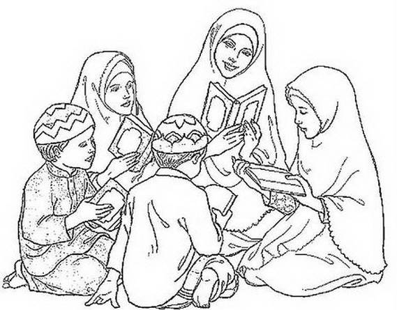 Ramadan Coloring Pages Coloring Pages