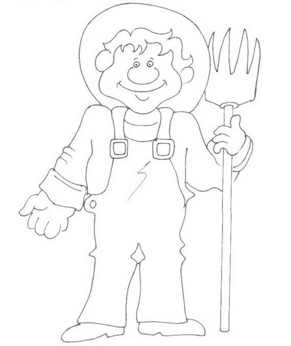 Free Printable Labor Day Coloring Page Sheets for Kids