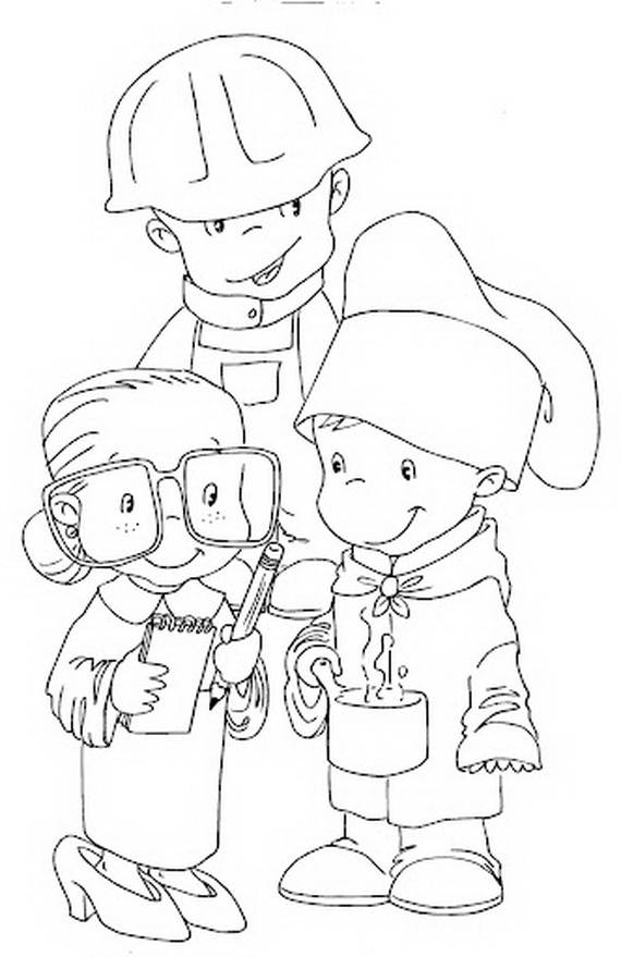 Labor Day Coloring Pages Activities