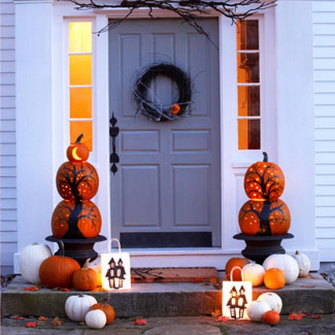 50 Cool Outdoor Halloween Decorations 2012 Ideas Family Holiday Net Guide To Family Holidays On The Internet