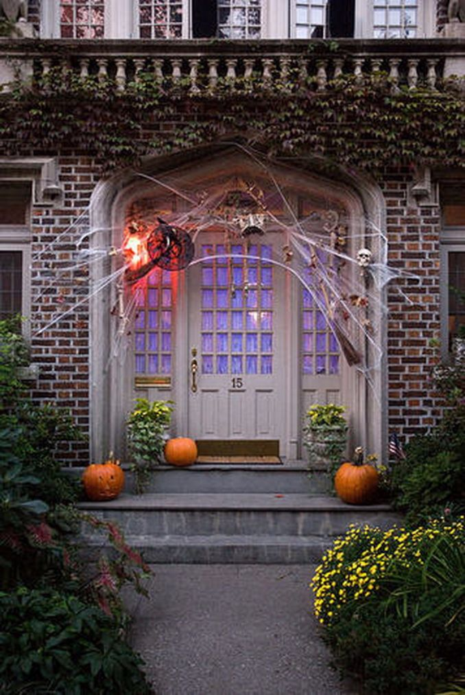 50 Cool Outdoor Halloween Decorations 2012 Ideas Family Holiday