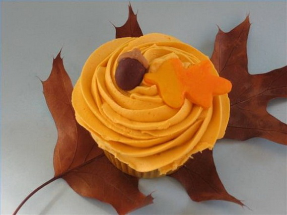 Easy Adorable Thanksgiving Cupcake Decorating Ideas  family holidaynetguide to family