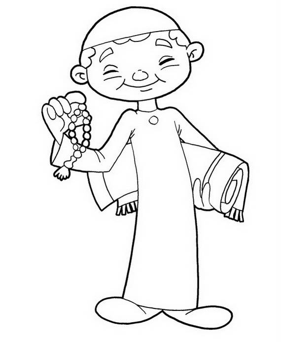 Eid Adha Coloring Pages