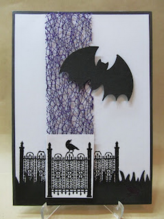 IDEAS FOR MAKING ELEGANT HOMEMADE HALLOWEEN CARDS Family Guide To Family Holidays