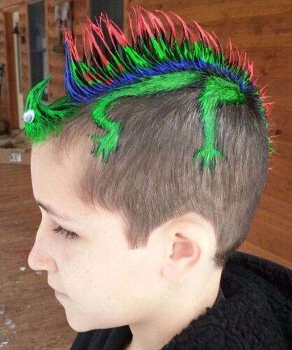 Top 50 Crazy Hairstyles Ideas For Kids Family Holiday Net Guide