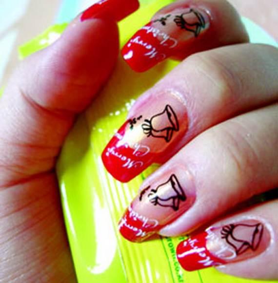 Best Easy Simple Christmas Nail Art Designs Ideas 09