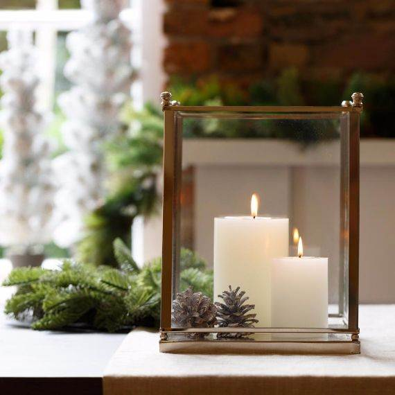 Decorating Candles Ideas For Christmas | Psoriasisguru.com