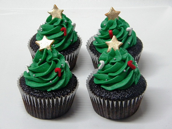 Christmas Cup Cake Decorations