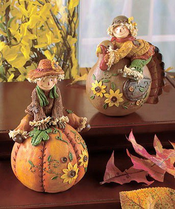 Simple Thanksgiving Decorations Candle