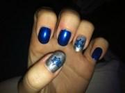 hanukkah nail art design - family