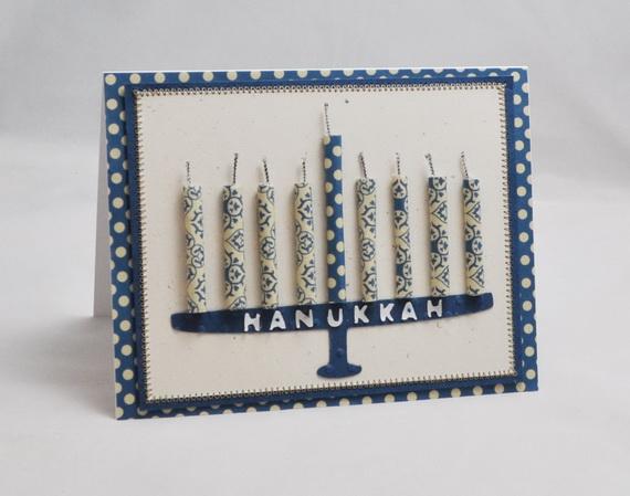Homemade Hanukkah Menorah Cards Family Guide