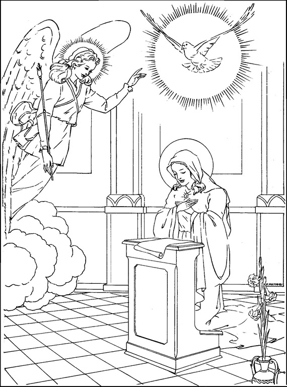 Church Calendar Coloring Page Coloring Pages