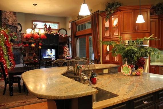 unique kitchen decorating ideas Unique Kitchen Decorating Ideas for Christmas - family