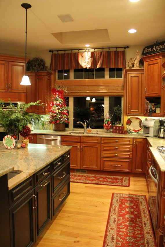 Unique Kitchen Decorating Ideas for Christmas  family holidaynetguide to family holidays on