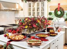 Unique Kitchen Decorating Ideas for Christmas - family ...