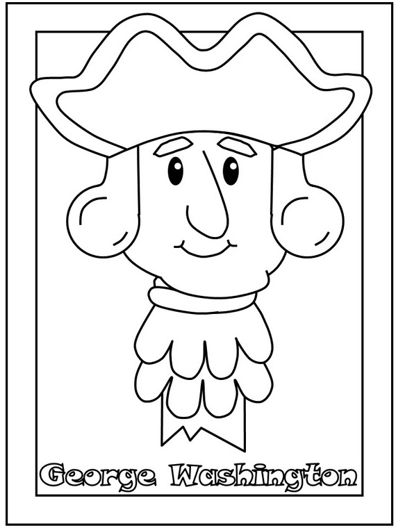 President's Day Coloring Pages and Pintables for Kids