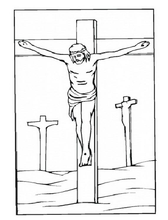 Methodist Cross Coloring Page Coloring Pages