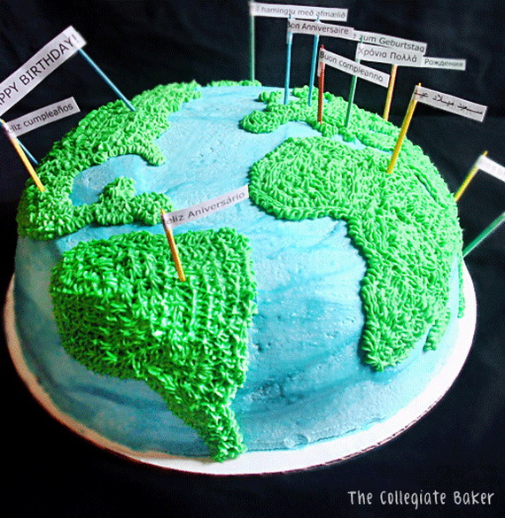Coolest Earth Day Cake Decorating Ideas  family holidaynetguide to family holidays on the