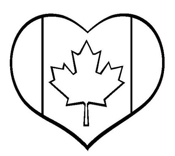 Canada Day Coloring Pages Family Guide To