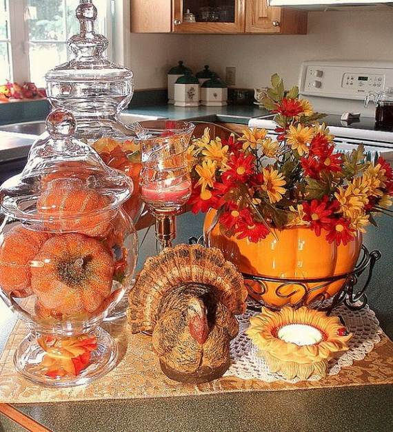 fall kitchen decor storage space in 35 beautiful and cozy ideas family holiday net 26