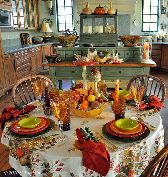 fall kitchen decor vulcan equipment 35 beautiful and cozy ideas family holiday net 31