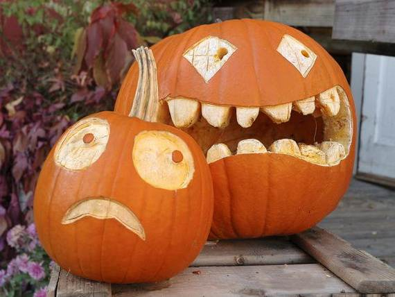 Cool Easy Pumpkin Carving Ideas _20