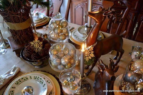 60 Elegant Table Centerpiece Ideas For Christmas  family
