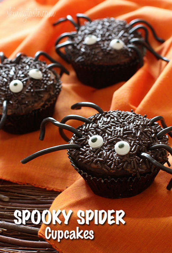 Spooky Halloween cupcake Ideas  family holidaynetguide to family holidays on the internet