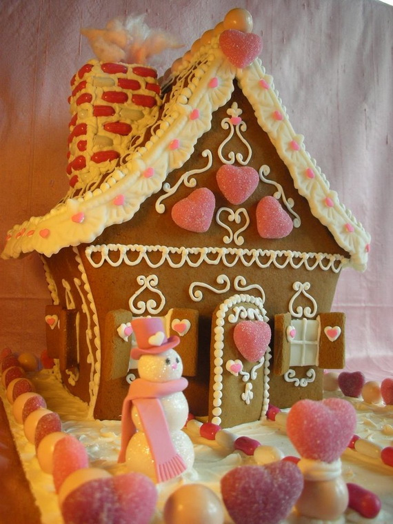 Amazing Traditional Christmas Gingerbread Houses - family