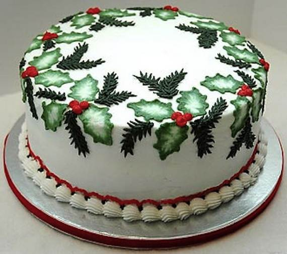 Decorating Christmas Cake Ideas