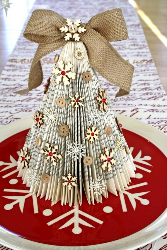 Pretty Paper Christmas Craft  Decoration Ideas  family holidaynetguide to family holidays on