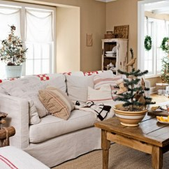 Country Living Room Decorating Pictures Paint Color Ideas 60 Elegant Christmas Decor Family 04