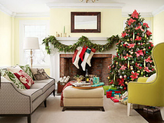 decorate small living room for christmas ideas rooms 60 elegant country decor family 10