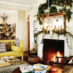 Ideas For Decorating My Living Room Christmas Chairs South Africa 60 Elegant Country Decor Family 47