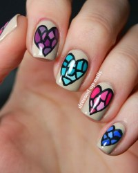 55 Creative Nail Art Designs for Valentine's Day 2014