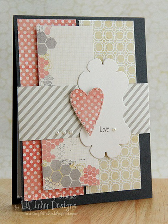 Unique Homemade Valentine Card Design Ideas Family
