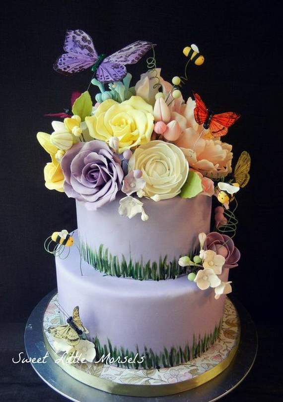 45 Spring Cake And Cupcake Decorating Ideas Family