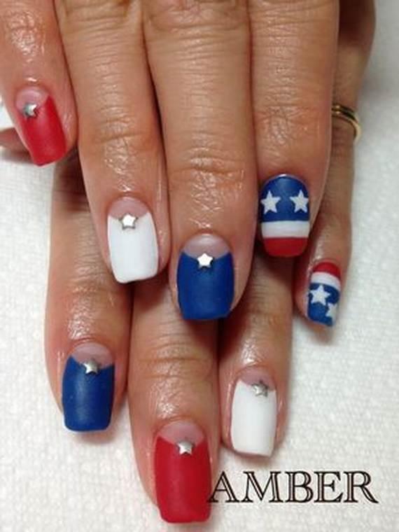 Amazing Patriotic Nail Art Designs Ideas 05