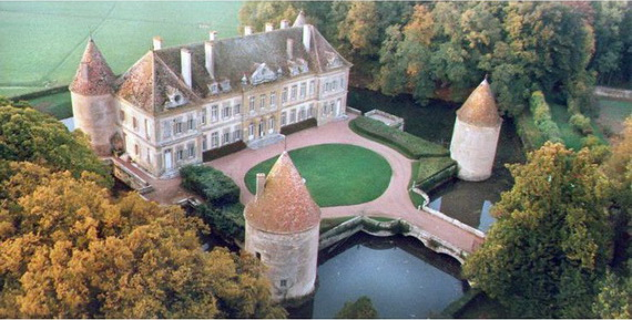 C18th Burgundy Chateau a Charming Hotel in Bourgogne France  family holidaynetguide to family