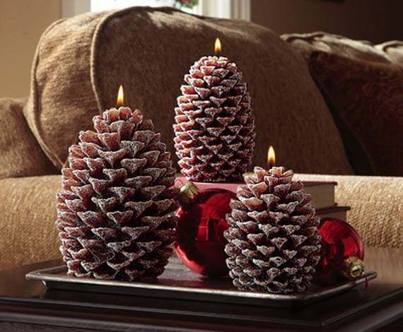 40 Awesome Pinecone Decorations For the holidays  family holidaynetguide to family holidays