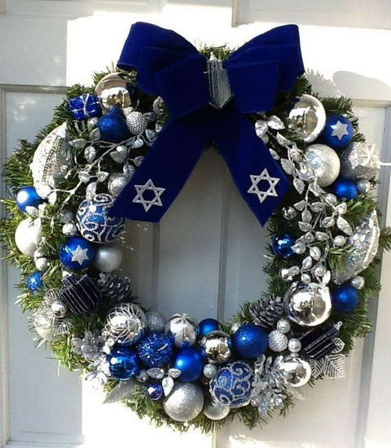 70 Classic And Elegant Hanukkah Decor Ideas Family