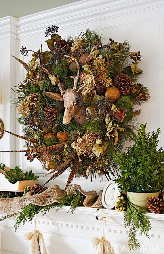 40 Unique and Unusual Astonishing Christmas Holiday Wreath Ideas  family holidaynetguide to