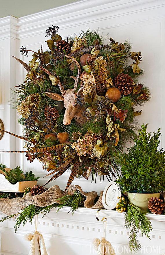 40 Unique and Unusual Astonishing Christmas Holiday Wreath